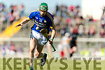 Jordan Conway Kerry in action against  Offaly in the National Hurling League in Austin Stack Park, Tralee on Sunday.