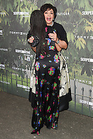 Dame Shirley Bassey and Thandie Newton<br /> arrives for the Serpentine Gallery Summer Party 2016, Hyde Park, London.<br /> <br /> <br /> ©Ash Knotek  D3138  06/07/2016