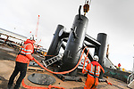 SMS - Red Funnel Lay-by Berth Support Posts Lift