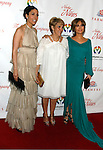 "BEVERLY HILLS, CA. - May 09: Linda Lopez, Guadalupe Rodriguez and Jennifer Lopez (L-R) arrive at the 3rd Annual ""Noche de Ninos"" Gala at the Beverly Hilton Hotel on May 9, 2009 in Beverly Hills, California."