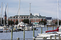 Marina, New Bern, North Carolina, USA.