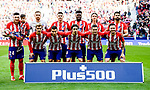 Atletico de Madrid squad poses for photos during prior to the La Liga 2017-18 match between Atletico de Madrid and Athletic de Bilbao at Wanda Metropolitano  on February 18 2018 in Madrid, Spain. Photo by Diego Souto / Power Sport Images