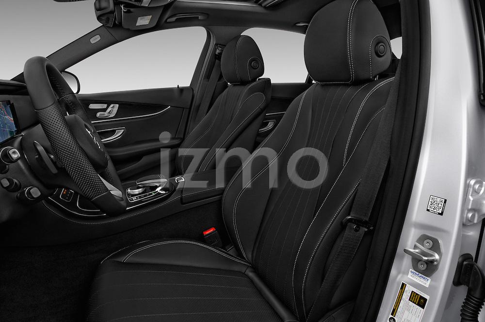 Front seat view of 2017 Mercedes Benz E-Class E300 4 Door Sedan Front Seat  car photos