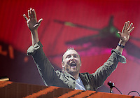 David Guetta performance at Wireless Festival - 05/07/2015