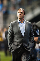 Los Angeles Galaxy head coach Bruce Arena. The Los Angeles Galaxy defeated the Philadelphia Union 4-1 during a Major League Soccer (MLS) match at PPL Park in Chester, PA, on May 15, 2013.
