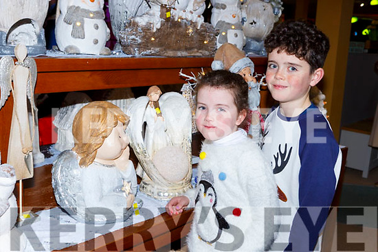 Charlie and Katie Foley at the Christmas fair in Moriarty's furniture Killorglin on Sunday