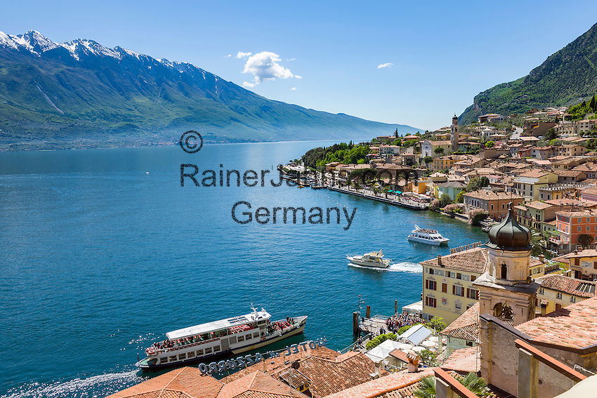 Italy, Lombardy, Lake Garda, Limone | Italien, Lombardei, Gardasee, Limone am Westufer des Gardasees