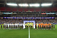 Atlanta, GA - Sunday Sept. 18, 2016: United States, Netherlands  prior to a international friendly match between United States (USA) and Netherlands (NED) at Georgia Dome.