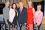 Pictured at the Operation Transformation Awards Ceremony at the Devon Inn Hotel on Friday night were L-R : Norella Molyneux, Knockanure, Breda O'Grady, Abbeyfeale, Jimmy Deenihan T.D., who presented the awards on the night, Maggie Large, of Shakti Abbeyfeale and Philomena Molyneux, Knockanure.