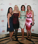 Cassandra Seidenfeld, Sara Herbert-Galloway, Real Housewives of New York LuAnn de Lesseps and The Daily Yoy's Daniela Zahradnikova Attend The Association of Community Employment Programs for the Homeless Presents Viva Las Veg-ACE! held at the Waldorf Astoria (Starlight Roof), NY  5/19/11
