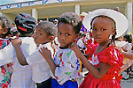 School Children In Local Festival