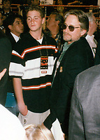 Michael Douglas &amp; Cameron (son) 1997<br /> Photo By John Barrett-PHOTOlink.net / MediaPunch