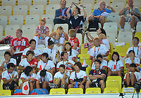 August 02, 2012..Members of Japan, Russia and Belgium at the Aquatics Center on day six of 2012 Olympic Games in London, United Kingdom.