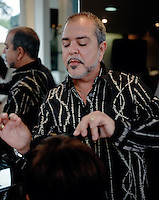 Pupi well known Cuban Hairdresser based in Mexico City,  has a chain of salons