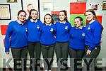 At the Castleisland Community College 30th celebration on Friday were Rachel O'Connell, Jemma Burke, Elle Lenihan, Laura Foran, Chelsea Lane, Ciara McCarthy