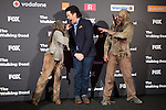 Actor Josh McDermitt attends The Walking Dead: 6th Season presentation in Madrid, Spain. February 23, 2016. (ALTERPHOTOS/Victor Blanco)