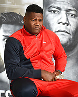 LOS ANGELES - SEPTEMBER 28: Luis Ortiz during a Los Angeles press conference for the November 23, 2019 Fox Sports PBC Pay-Per-View fight night at the MGM Grand in Las Vegas. (Photo by Frank Micelotta/Fox Sports/PictureGroup)