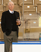 Jerry York (BC - Head Coach) - The Boston College Eagles defeated the University of Denver Pioneers 6-2 in their NCAA Northeast Regional semi-final on Saturday, March 29, 2014, at the DCU Center in Worcester, Massachusetts.