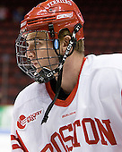 Kevin Gilroy (BU - 16) - The Boston University Terriers defeated the visiting Providence College Friars 2-1 on Saturday, October 23, 2010, at Agganis Arena in Boston, Massachusetts.