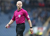 Match Referee Andy Woolmer<br /> <br /> Photographer Rachel Holborn/CameraSport<br /> <br /> The EFL Sky Bet League One - Blackburn Rovers v Southend United - Saturday 7th April 2018 - Ewood Park - Blackburn<br /> <br /> World Copyright &copy; 2018 CameraSport. All rights reserved. 43 Linden Ave. Countesthorpe. Leicester. England. LE8 5PG - Tel: +44 (0) 116 277 4147 - admin@camerasport.com - www.camerasport.com