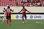 Persipura Jayapura vs Warriors FC during the 2015 AFC Cup 2015 Group E match on April 28, 2015 at the Mandala Stadium in Jayapura, Indonesia. Photo by Chaarly Lapulua / World Sport Group