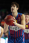Ante Tomic. FC Barcelona Regal vs CSKA Moscow: 75-78