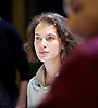 Oresteia<br /> by Aeschylus <br /> a new version created by Robert Icke<br /> at Almeida Theatre, London, Great Britain <br /> press photocall<br /> 4th June 2015 <br /> <br /> <br /> Jessica Brown Findlay<br /> <br /> <br /> <br /> Photograph by Elliott Franks <br /> Image licensed to Elliott Franks Photography Services