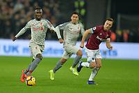 Correction Naby Keita of Liverpool Sadio Mane of Liverpool during West Ham United vs Liverpool, Premier League Football at The London Stadium on 4th February 2019