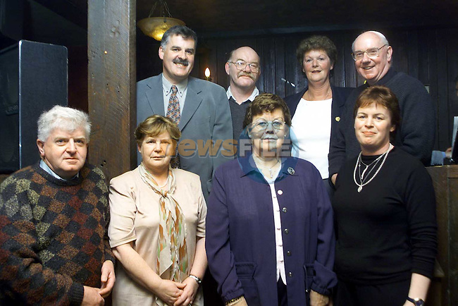 Noel Quinn, Syl Roche, Raphael Mahon, Monsignor John Hanly, Cllr. Tom Kelly, Nancy Irwin, Betty Lynch and Emir Smith Duffy at the announcement of prizes in the Fr. Ferris Appeal Raffle which was held in Gilna's, Laytown..Picture Paul Mohan Newsfile