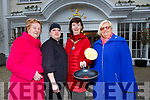 Eimear Moynihan Chairperson of Killarney Soroptimists practicing her flipping for their upcoming Pancake Tuesday coffee morning in the Killarney Avenue Hotel which will be held on the 5th l-r: Eileen Foley, Vitialja Dziugaite Eimear Moynihan and Sheila Casey