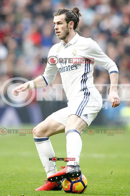 Real Madrid's Garet Bale during La Liga match. February 18,2017. (ALTERPHOTOS/Acero) /Nortephoto.com