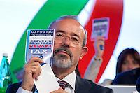 Carmelo Barbagallo nuovo Segretario della UIL <br /> Roma 21-11-2014 Palazzo dei Congressi. XVI Congresso della UIL.<br /> Photo Samantha Zucchi Insidefoto