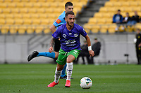 Reno Piscopo of Wellington Phoenix during the A League - Wellington Phoenix v Western United FC at Sky Stadium, Wellington, New Zealand on Friday 21 February 2020. <br /> Photo by Masanori Udagawa. <br /> www.photowellington.photoshelter.com