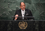 Address by His Excellency Luis Guillermo Solís Rivera, President of the Republic of Costa Rica