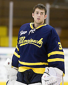 Sam Marotta (Merrimack - 30) - The Merrimack College Warriors defeated the visiting Sweden Under 20 team 4-1 on Tuesday, November 2, 2010, at Lawler Arena in North Andover, Massachusetts.
