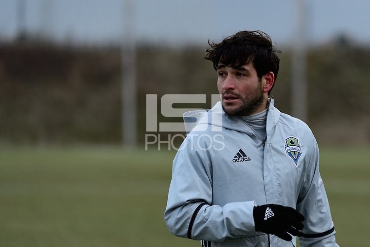 Toronto, ON, Canada - Thursday Dec. 08, 2016: Nicolas Lodeiro during training prior to MLS Cup at the Kia Training Grounds.