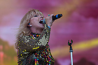 Toyah performing during Rewind South, The 80s Festival, at Temple Island Meadows, Henley-on-Thames, England on 20 August 2016. Photo by David Horn.