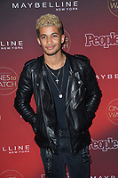 Jordan Fisher at the 2017 People's &quot;Ones To Watch&quot; event at NeueHouse Hollywood, Los Angeles, USA 04 Oct. 2017<br /> Picture: Paul Smith/Featureflash/SilverHub 0208 004 5359 sales@silverhubmedia.com