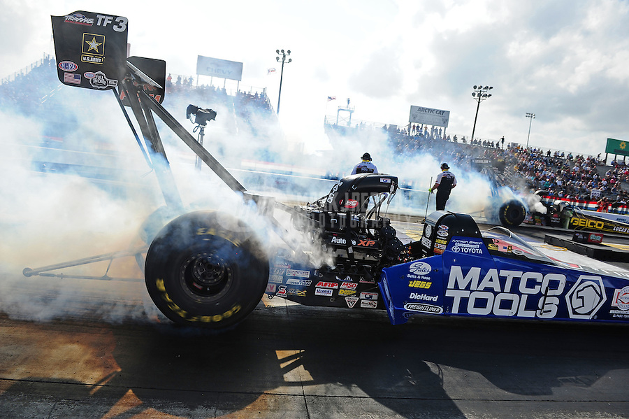 27-29 April, 2012, Houston, Texas USA, Antron Brown, Matco Tools, top fuel dragster @2012, Mark J. Rebilas