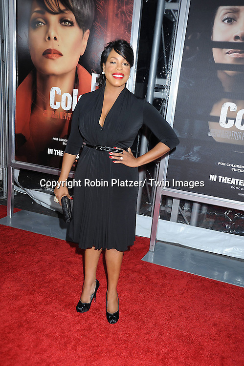 "Niecy Nash attending The New York Special Screening.of ""For Colored Girls"" at The Ziegfeld Theatre on October 25, 2010 in New York City"