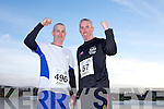 Damien Driscoll and Tony Casey at the Valentines 10 mile road race in Tralee on Saturday.