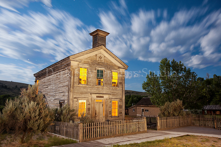 Bannack School House & Masonic Lodge