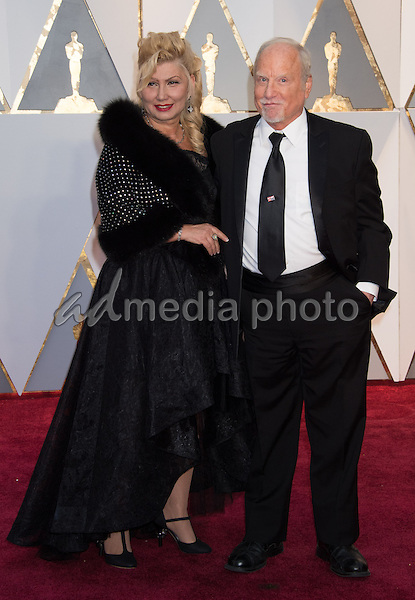 26 February 2017 - Hollywood, California - Richard Dreyfuss and wife, Svetlana. 89th Annual Academy Awards presented by the Academy of Motion Picture Arts and Sciences held at Hollywood & Highland Center. Photo Credit: AMPAS/AdMedia
