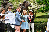 HOT SPRINGS, AR - APRIL 13:  Apple Blossom Handicap at Oaklawn Park on April 13, 2018 in Hot Springs, Arkansas. (Photo by Ted McClenning/Eclipse Sportswire/Getty Images)