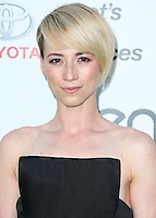 BURBANK, CA, USA - OCTOBER 18: Karine Vanasse arrives at the 2014 Environmental Media Awards held at Warner Bros. Studios on October 18, 2014 in Burbank, California, United States. (Photo by Xavier Collin/Celebrity Monitor)