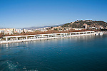 Palmeral de las Sorpresas, Muelle 2 cruise ship terminal port of Malaga, Spain