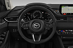Car pictures of steering wheel view of a 2019 Mazda Mazda6 Skycrusie 5 Door Wagon Steering Wheel