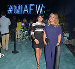 MIAMI, FL - MAY 30: Vida Curbelo and Merari Cruz attend Miami Fashion Week at Ice Palace Film Studios on May 30, 2019 in Miami, Florida. ( Photo by Johnny Louis / jlnphotography.com )