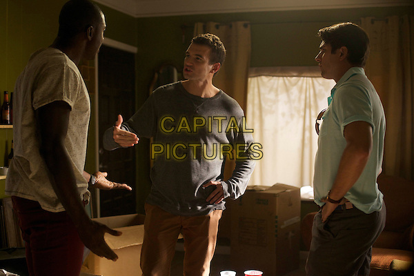 Sinqua Walls, Alex Russell, Miles Fisher <br /> in Believe Me (2014) <br /> *Filmstill - Editorial Use Only*<br /> CAP/FB<br /> Image supplied by Capital Pictures
