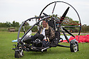 01/07/15<br /> <br /> Injured veteran David Chambers in the Fresh Breeze XCitor para-trike. <br />  <br /> <br /> *** FULL STORY HERE: <br /> http://www.fstoppress.com/articles/flying-for-heroes/  ***<br /> <br /> A special aircraft adapted to be flown by wounded, injured and sick servicemen took to the skies for the first time above Britain today.<br /> <br /> The two-seater para-trike is one of three similar aircraft operated by Flying For Heroes that are currently based at Darley Moor Airfield, Ashbourne, Derbyshire.<br /> <br /> Ten wounded servicemen took to the controls of this, and many other aircraft, during a two-day flying training camp hosted by Airways Airsports.<br /> <br /> *** FULL STORY HERE:  http://www.fstoppress.com/articles/flying-for-heroes/  ***<br /> <br /> All Rights Reserved: F Stop Press Ltd. +44(0)1335 418629   www.fstoppress.com.